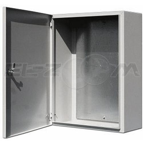 Щит навесной с монтажной панелью IP-54 ЩРНМ-02 металл. серый