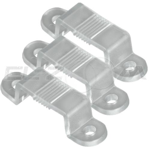 Комплект (10 скоб) для крепления ленты 10мм SMD 5050 IP68, 220В