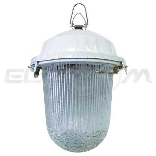 Светильник НСП 02-100-001.01 У2 (б/с, стекло, крюк) TDM