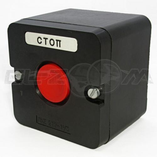 Пост кнопочный ПКЕ 222-1 1 кнопка красная IP54 TDM
