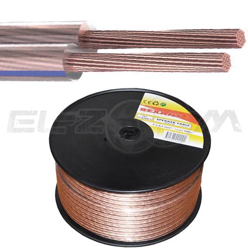 Акустический кабель 2x0,5 кв.мм. CCA