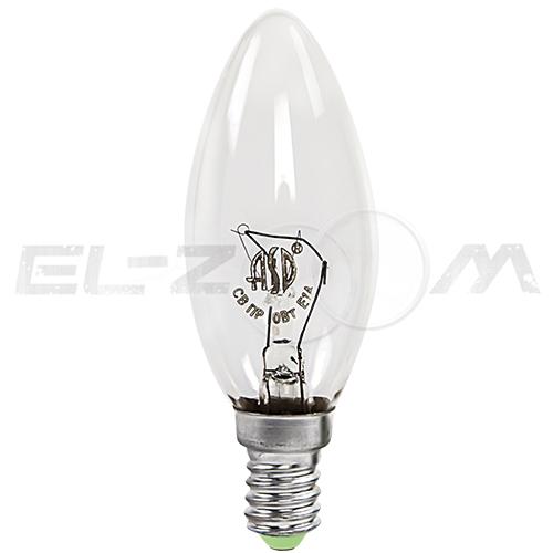 Лампа накаливания СВЕЧА ASD P45 40Вт E14 прозрачная
