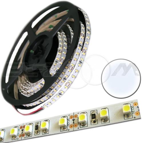 Светодиодная лента SMD 3528 IP20, 12В 9,6Вт/м L120 белый (холодный)