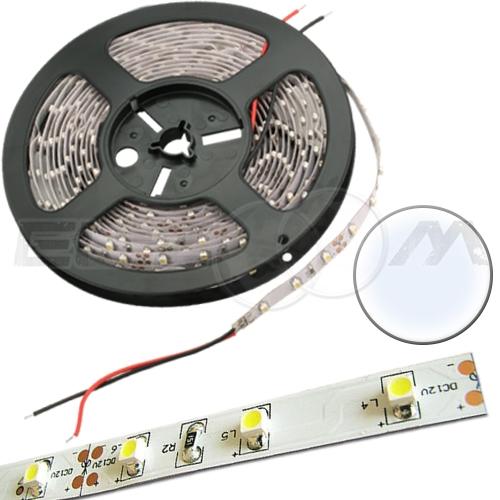 Светодиодная лента SMD 3528 IP20, 12В 4,8Вт/м L60 белый (холодный)