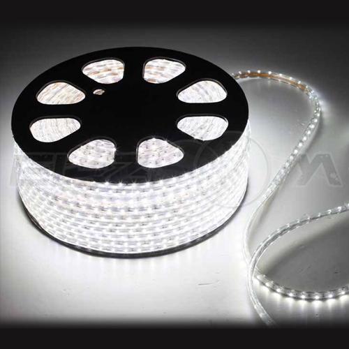 Светодиодная лента SMD 5050 IP68, 220В 14,4Вт/м L60 белый (холодный)