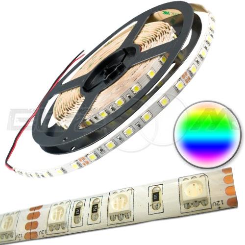 Светодиодная лента SMD 5050 IP65, 12В 14,4Вт/м L60 RGB