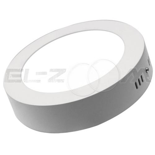 Светодиодная панель накладная круглая Сталкер 18Вт 230В 6000К 1440Лм IP20