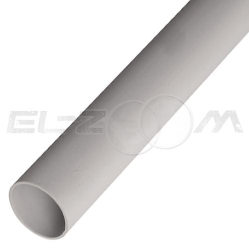 Труба ПВХ жесткая гладкая D=16мм (1м.)