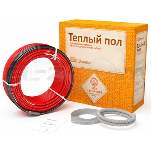 Греющий кабель 8,5м (150Вт) Warmstad WSS-150 5,5мм (двухжильный)