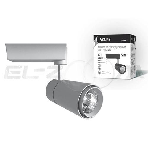 Трековый светодиодный светильник 10Вт 4200К 900lm Volpe ULB-Q252 10W/NW/H White